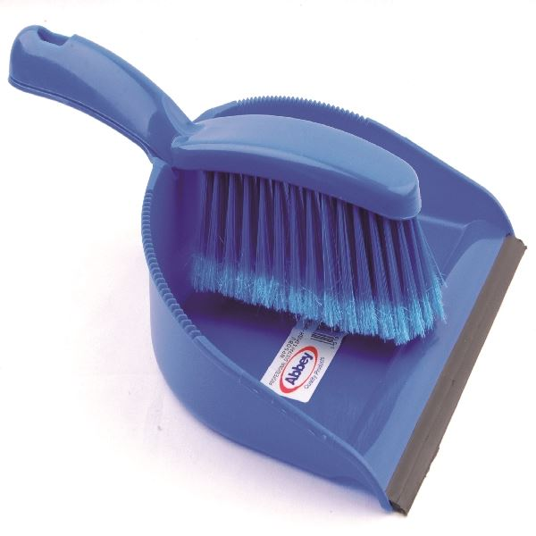 Professional DustPan Brush Soft Blue
