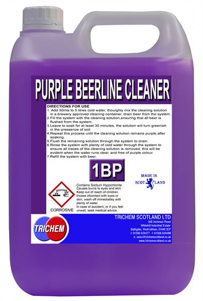 PURPLE BEERLINE CLEANER