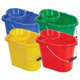 mixed mop pails
